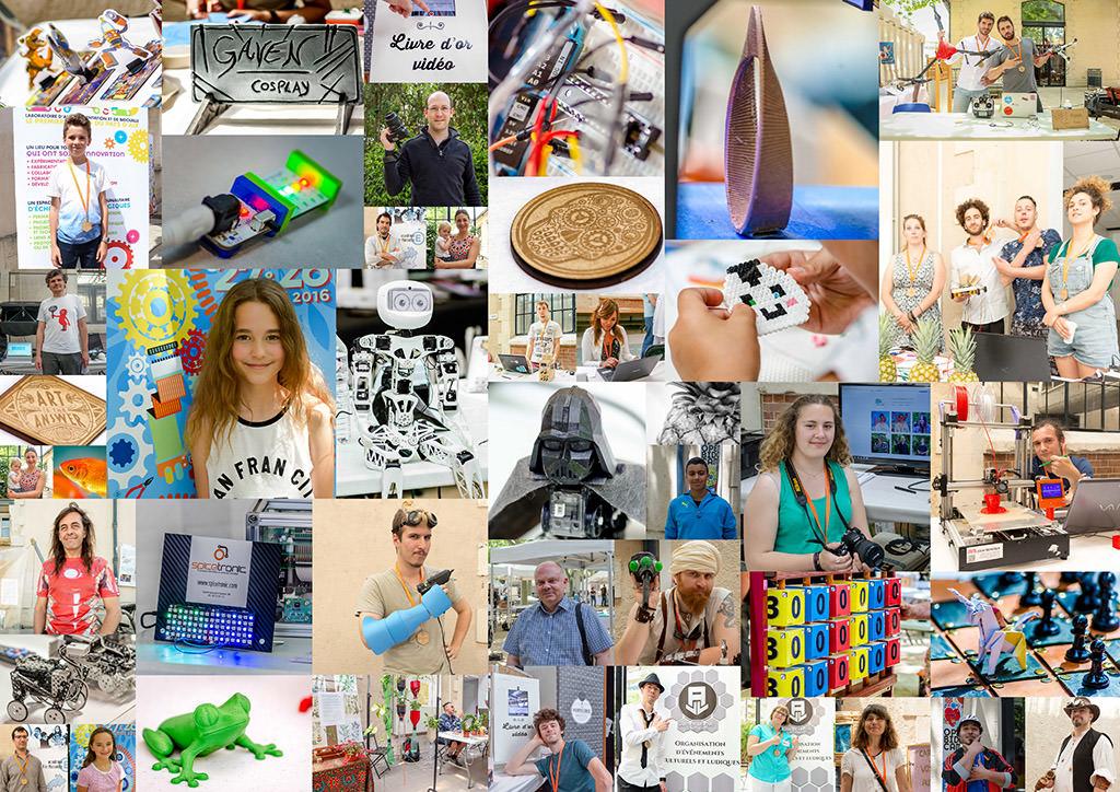 assemblage des photos de l'OBC Provence