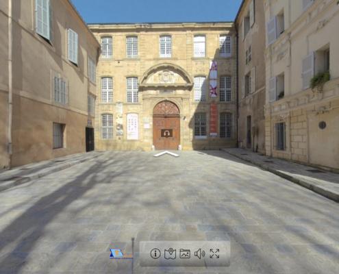 Visite virtuelle du Musée des Tapisseries