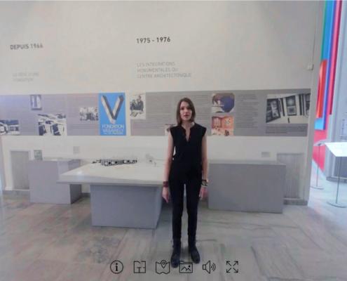 Photo de la visite virtuelle de la Fondation Virtuelle