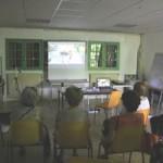 acces-multimedia vidéo projection fête de quartier