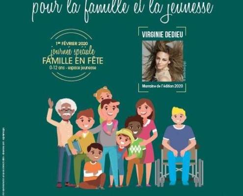Affiche de La Quinzaine pour la Famille et la Jeunesse