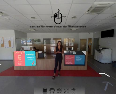 Visite Virtuelle de la Mission Locale d'Aix