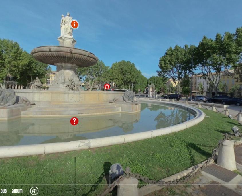 Visite Virtuelle d'Aix-en-Provence